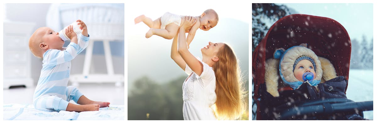 Von Kinderwagen bis Fläschchen: Die Baby-Checkliste ist lang