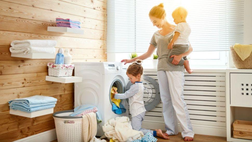 Mit neumodischen Waschmaschinen lässt sich viel Geld sparen.